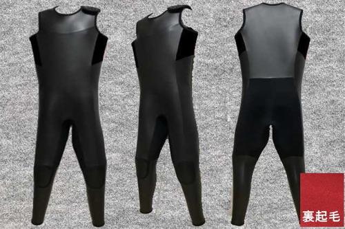 ダイビング起毛エアホットスキン6.5mmロングジョン肩ベルクロ(フルオーダー料込)wsm1705dロクハン