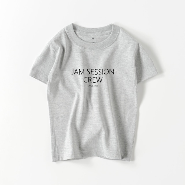 JAM SESSION CREW KIDS T (GREY)