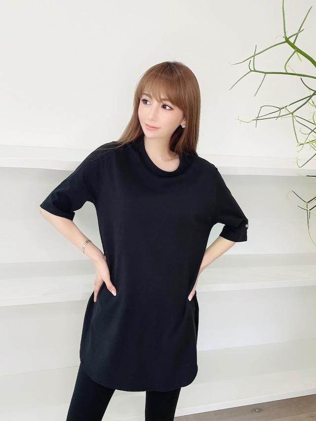 m.ベーシックチュニックTシャツ ¥4,900+tax