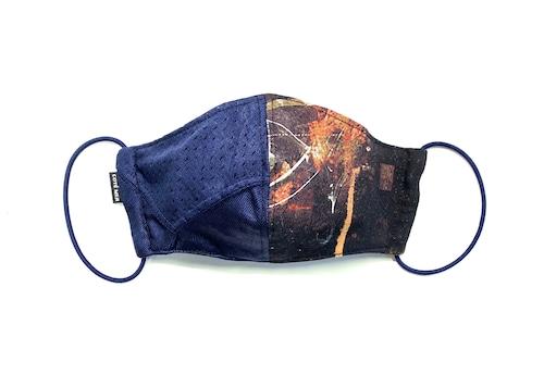 【夏用デザイナーズマスク 吸水速乾COOLMAX使用 日本製】SPORTS × BAND MASK F0730125
