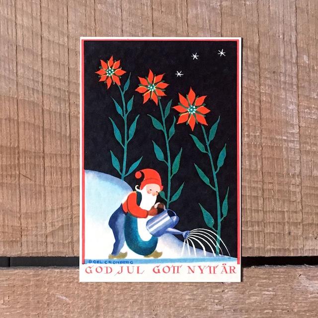 ミニ・クリスマスカード「Boel Cronberg(ボエル・クローンベリ)」《200311-04》
