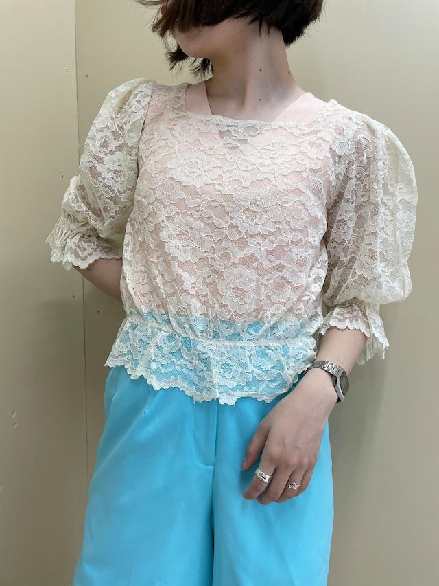 total race blouse / 7SSTP27-17