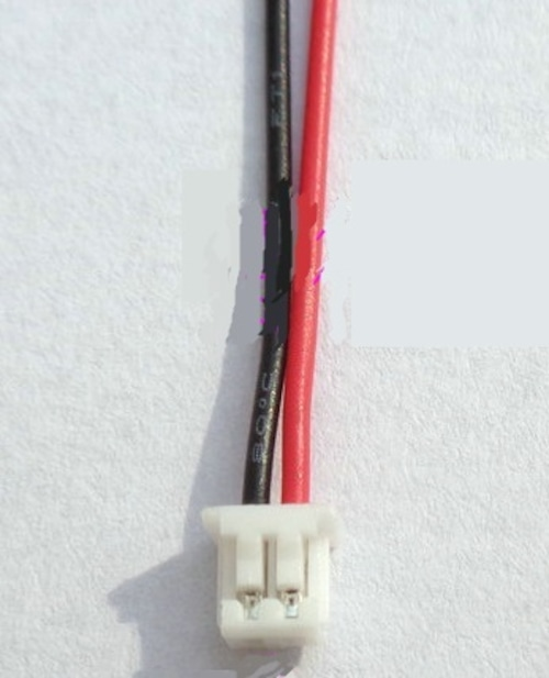 K110&K120適合◆テールモーターワイヤーと受信機を接続するコネクター付き接続線 全長8㎝ 2本セット
