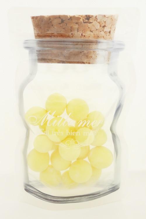 ビン型チャック付き袋 フルーツホワイトチョコ120g【税込】[No.1254]