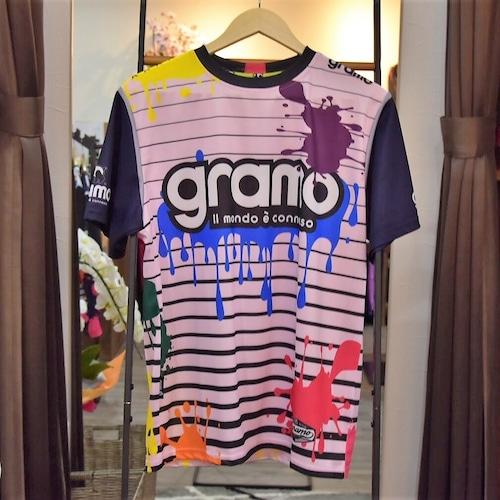 gramo プラクティスシャツ「splash」(P-029)