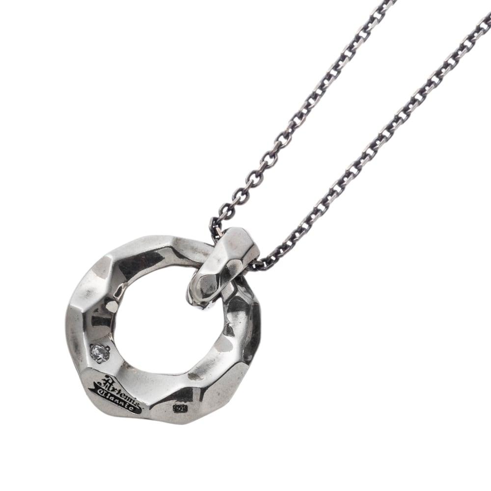 テクスチャーリングペンダント ACP0334 Textured ring pendant