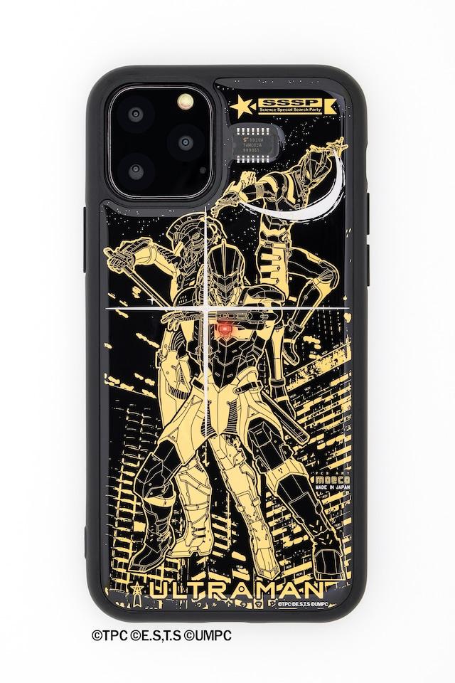 FLASH ウルトラマン 基板アート iPhone 11 Proケース【東京回路線図A5クリアファイルをプレゼント】