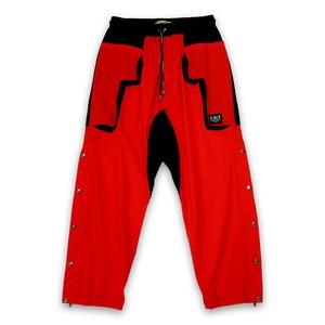 T.C.R EQUIPMENT SHELL PANTS V2 - RED/BLACK