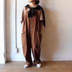 HARVESTY (ハーベスティ)/ CHINO CLOTH OVERALLS(チノクロス オーバーオール)ブラウン