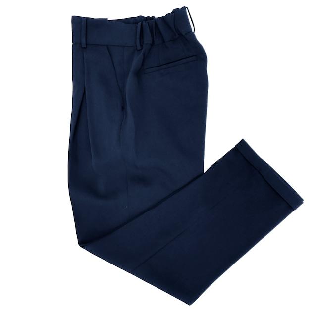 Formal Cross Tuck Pants/NAVY
