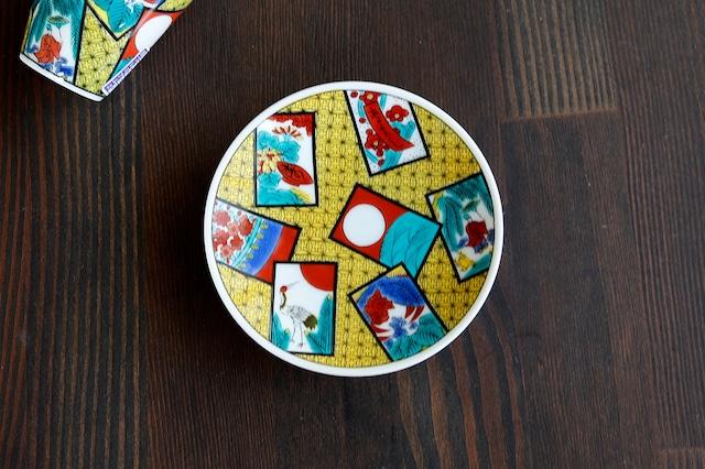 【SP3K19-03】『九谷縁起豆皿コレクション』『花かるた〈HANAKARUTA〉』 *かわいい豆皿 コレクション アクセサリー入れ 小物入れ 絵皿 九谷焼