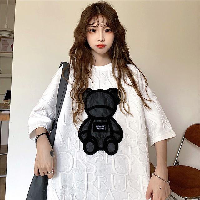 【トップス】ファッションストリート系キュートシンプルTシャツ42835735
