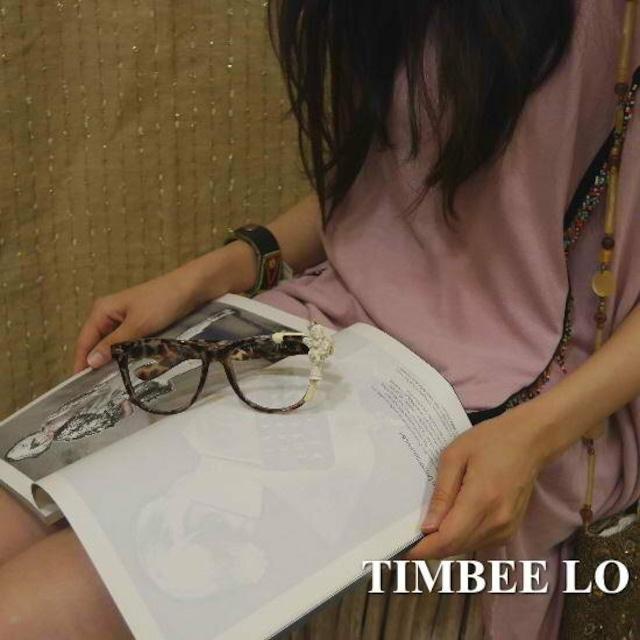 TIMBEE LO Hong Kong 天使のメガネ ブラウン