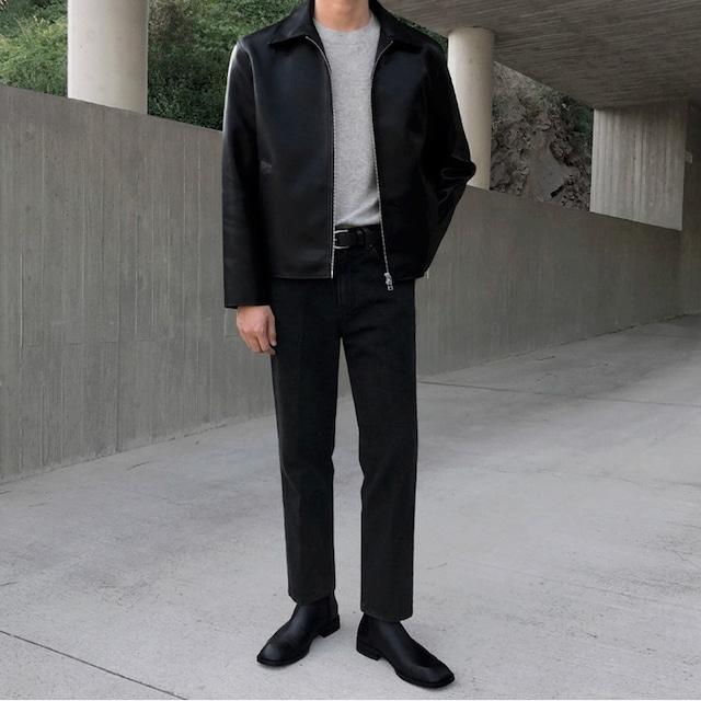 Riders side zipper jacket   b-544