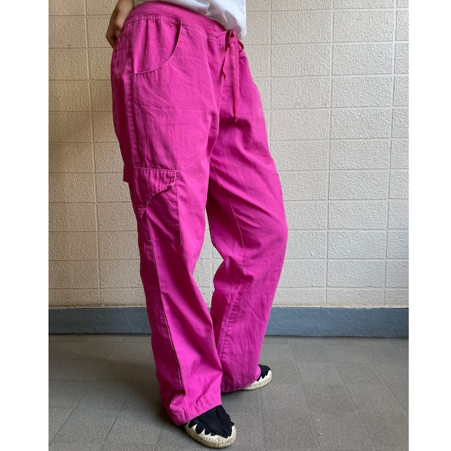 FLARE PINK EASY PANTS