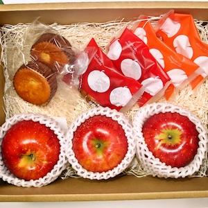 【歴史ある老舗のスイーツセット】りんご菓子 シナノスイート3玉