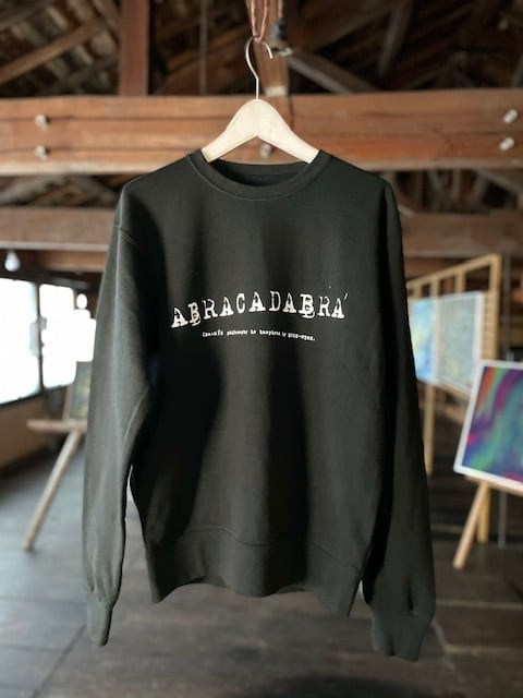 (Re:II)feat.BUCK-TICK  スエットトレーナー TYPE:ABRACADABRA -Black-