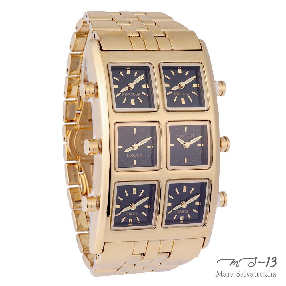 [世界限定100本]【MS-13】腕時計 6TIME ZONE シックスタイムゾーン