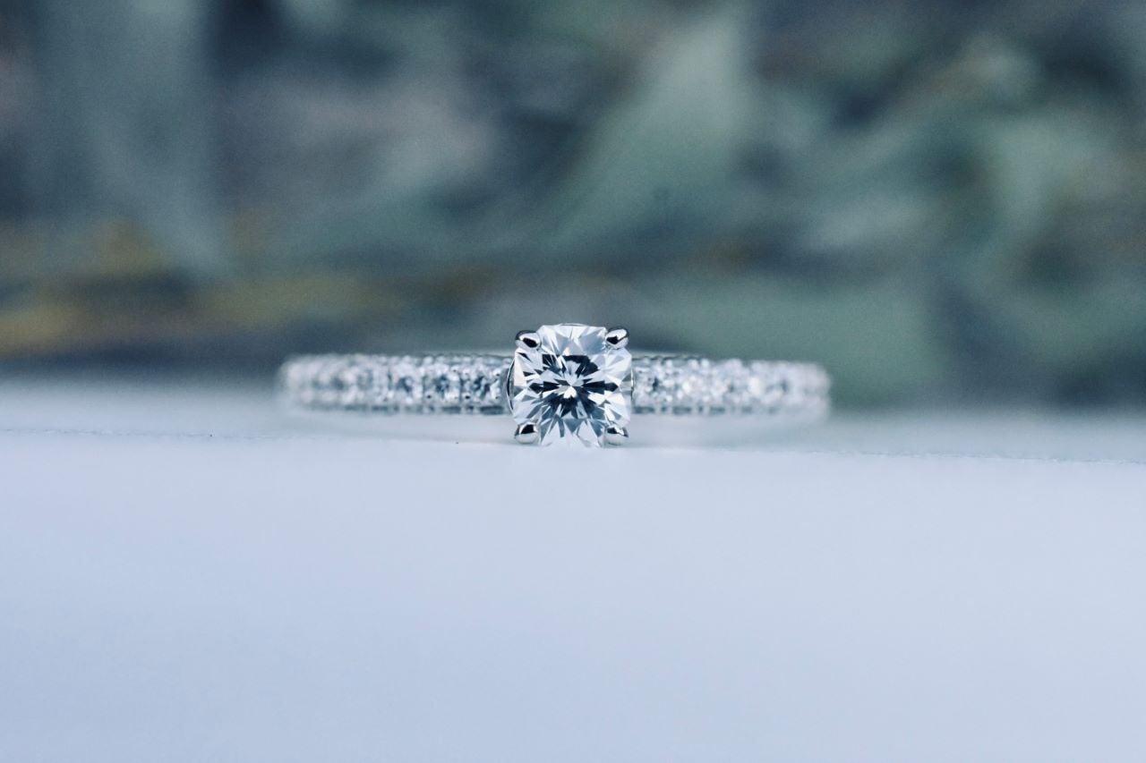 フランダース ブリリアント ダイヤモンド リング  0.273ct / D / VVS-1  /  PT900