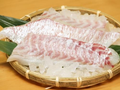【お刺身用まずはお試し3本】さばきたての鮮度そのまま!天草産 ぷりぷり真鯛のサク(85g×3本)