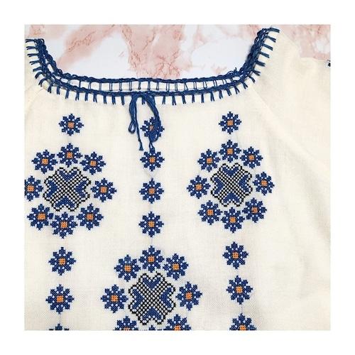ethnic embroidery tunic