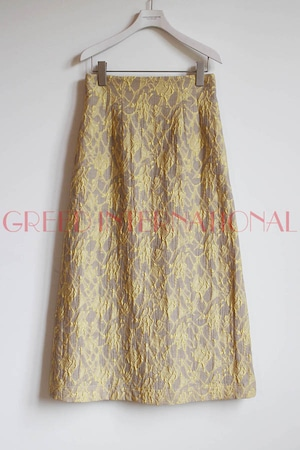 [SALE][送料無料]GREED(グリード) Splash Jacquard  Skirt 2020春物新作