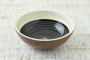 深鉢  (黒呉須)