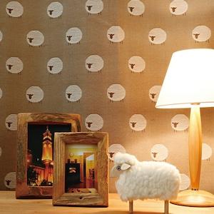 眠れない夜はひつじを数えて...。Sheepシープ101902 BR