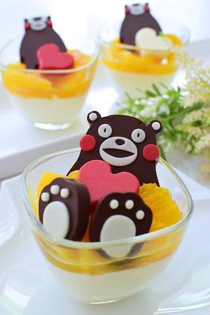 チョコレートモールド チョコレート型 [くまモン( ハート)]