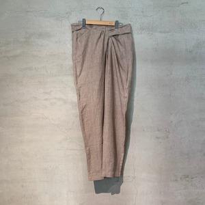 【COSMIC WONDER】Linen canvas wrapped pants/14CW11098