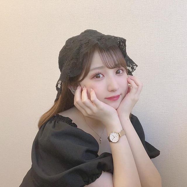【なちこ様着用アイテム⸜❤︎⸝】大花柄レース・クロッシェハット