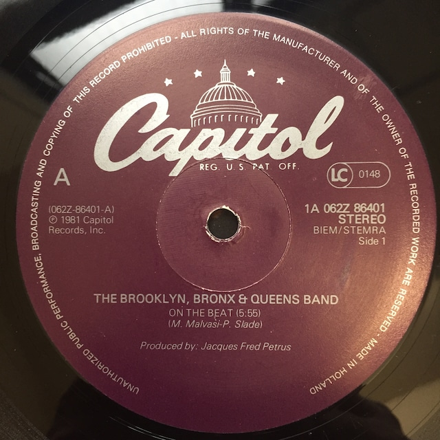 The Brooklyn, Bronx & Queens Band – On The Beat