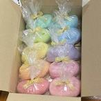 OGY19)虹色ロービング10色セット 手紡ぎ毛糸用羊毛