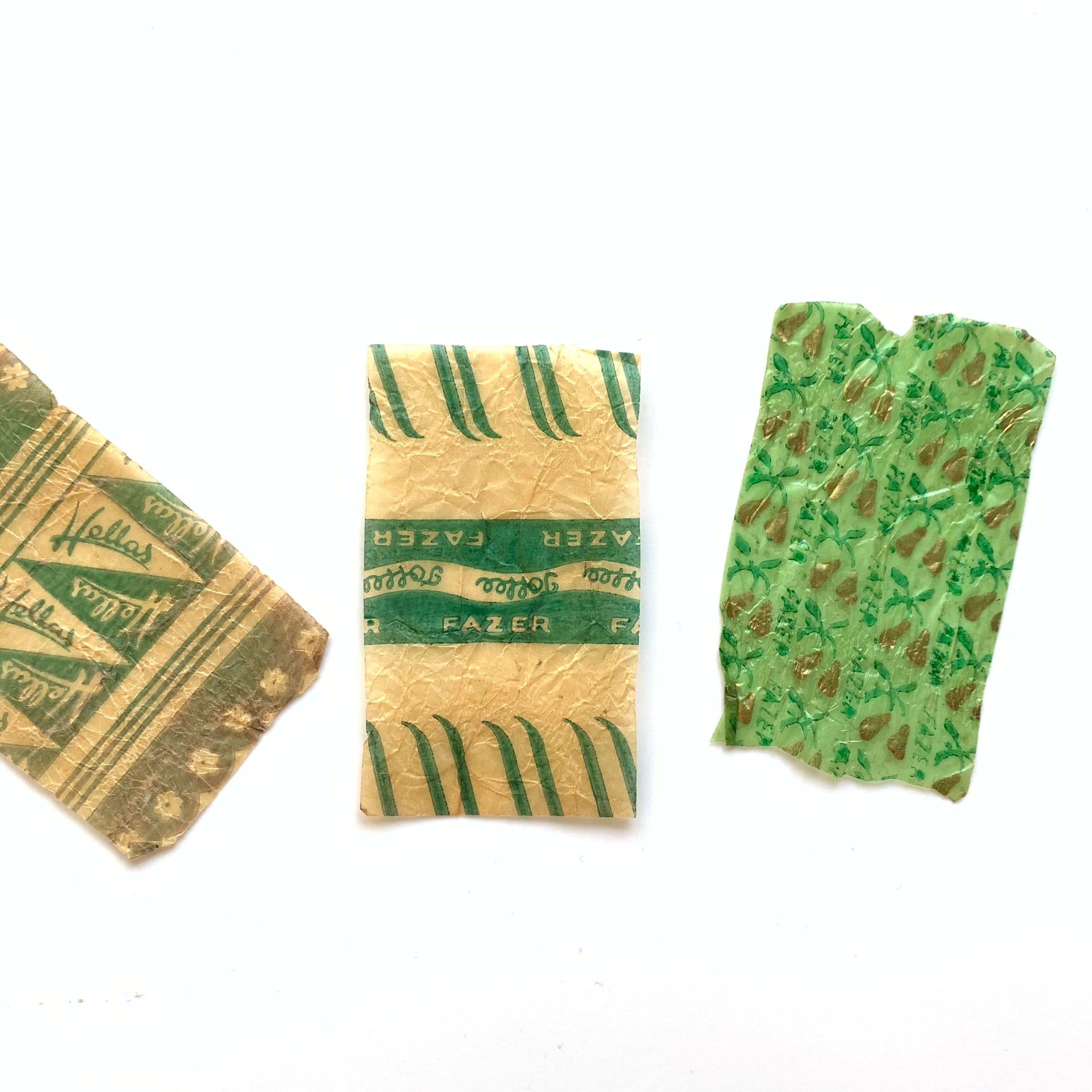 FAZER / vintage candy wrapper[B]