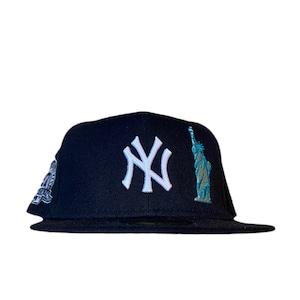 NEW ERA New York Yankees 27World Championships  59Fifty Fitted / Navy×White (Gray Brim)