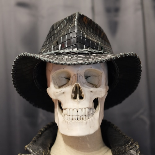 Wild Leather Hat 【 Black The Thing 】・予約受付販売