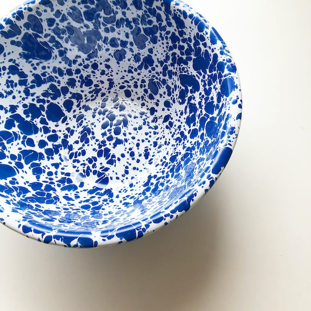 """CROW CANYON HOME  """"SMALL SERVING BOWL BLUE"""" φ21.5cm"""