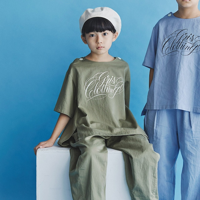 GRIS 21SS Print Pullover Shirt S/M/Lサイズ (Army Green) [DR21SS-SH005A]※メール便可