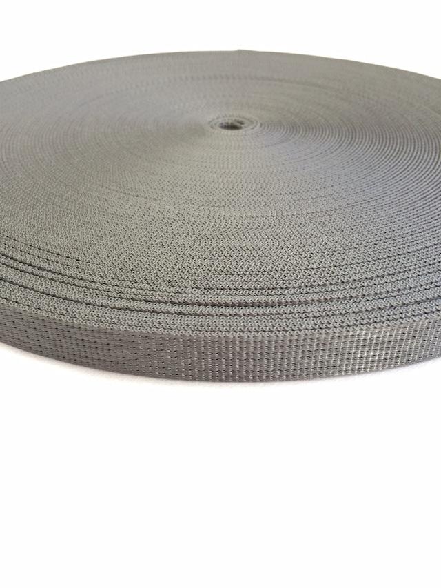 ナイロン  12本トジ織  20mm幅  1.5mm厚 カラー(黒以外) 1m
