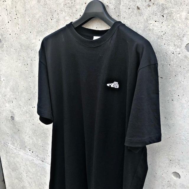 LOGO T-SHIRT / BLACK×WHITE