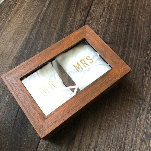 【100均レシピ】木箱のリングピローを作ろう(プリント版)