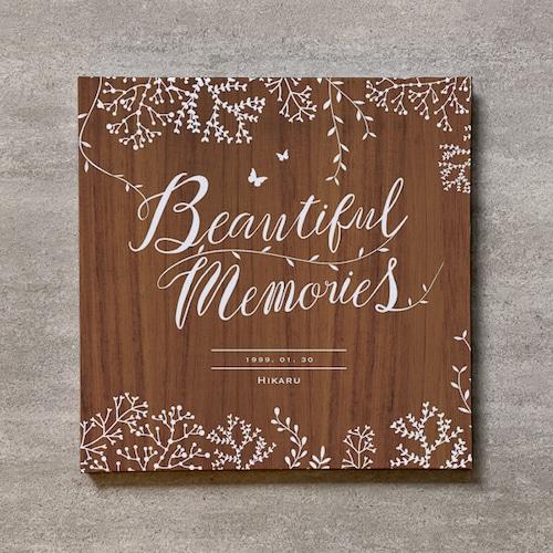 Tree's Board(Brown)-成人式_250SQ_20ページ/30カット_アートアルバム