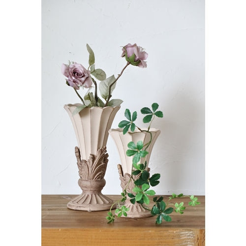 ピンクのデコラティブな花瓶(L) 036-150-312-212L