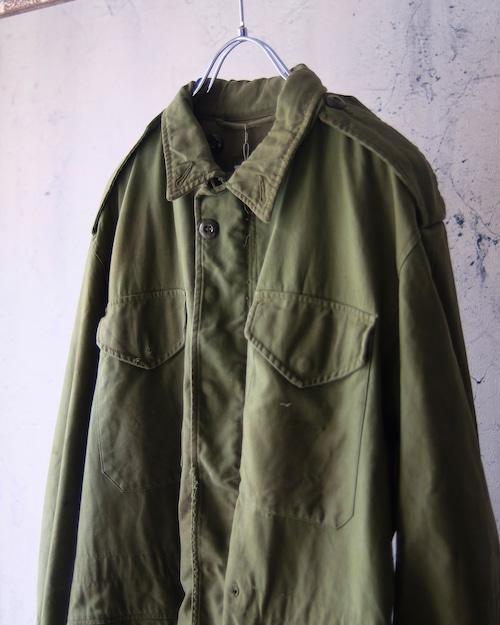 damaged M-51 field jacket