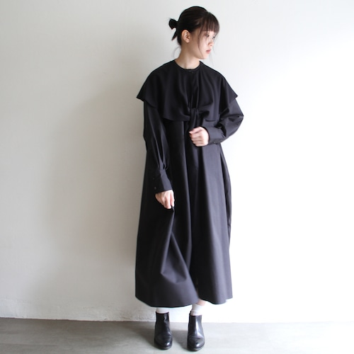 TENNE HANDCRAFTED MODERN 【 womens 】shirts dress with cape
