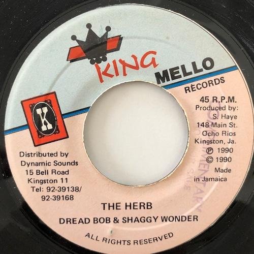 Dread Bob , Shaggy Wonder - The Herb【7-20066】