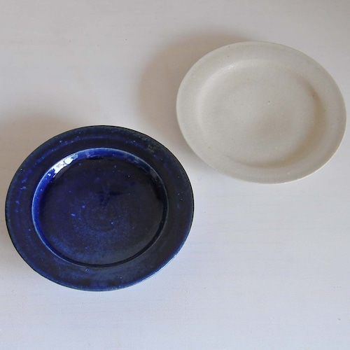 臼田けい子 5寸段皿(KU-68,69,)
