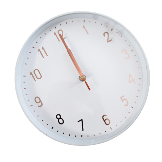 Simple wall clock / シンプル 壁掛け時計