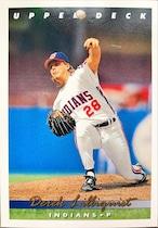 MLBカード 93UPPERDECK Derek Lilliquist #070 INDIANS