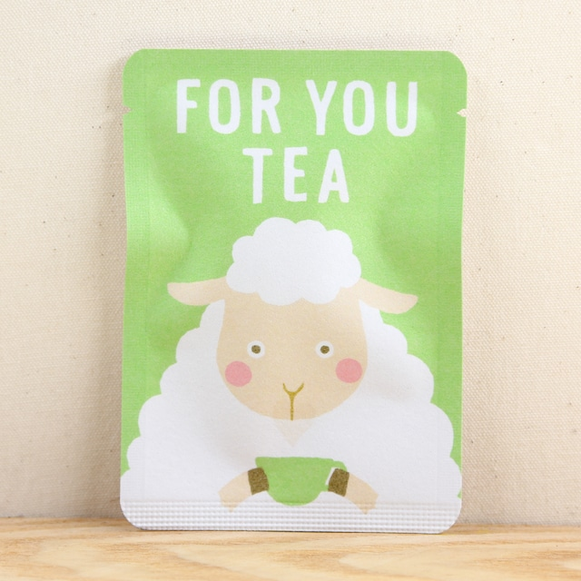 FOR YOU TEA|ごあいさつ茶|和紅茶ティーバッグ1包入り